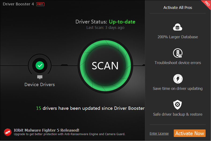 Iobit Driver Booster Pro Cracked