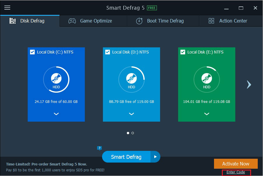 smart defrag 5.5 key