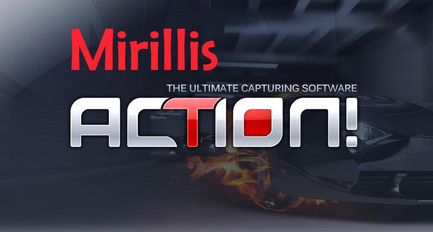 Serial key para mirillis action cracked