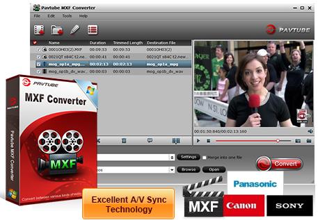 Pavtube MXF Converter 4.9.0 Crack [MAC + WINDOWS] Full