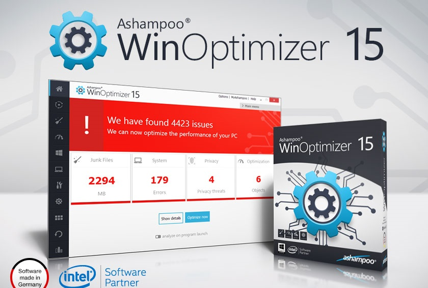 Ashampoo WinOptimizer 16.00.20 Crack + Serial Key [Latest]