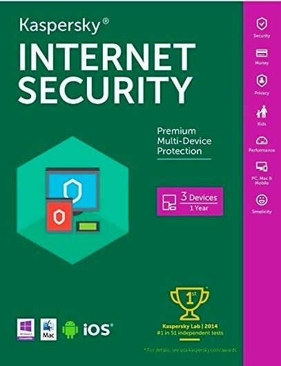 kaspersky internet security 2018 with key/activation code