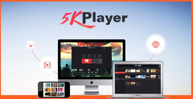 5KPlayer 5.0 Crack + Registration Code Free Download