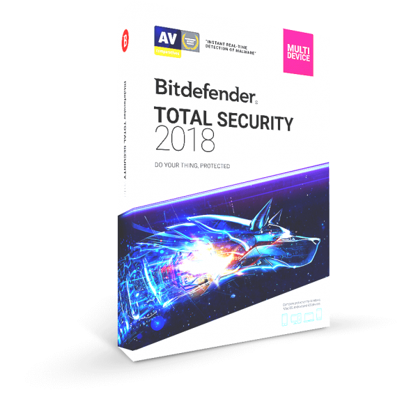 Bitdefender Total Security 2018 Crack + Serial Key is Here!