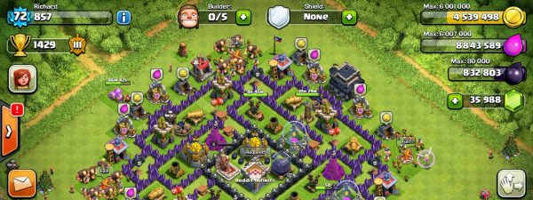 Clash of Clans 10.134.7 Mod APK Unlimited Gems Hack Tool