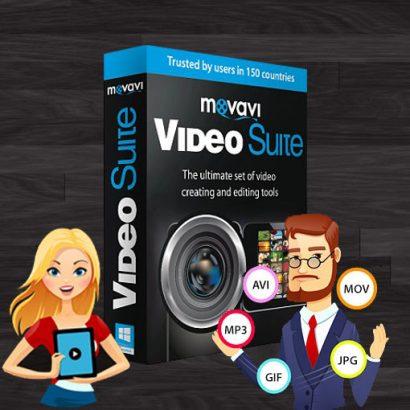 Capture de vidéos à partir d'une webcam, conversion de format, changement de la résolution pour le support par d'autres appareils, copie d'un DVD vers un disque dur, division et fusion de vidéos, ajout d'effets spéciaux, etc. Vous pourrez faire une tonne de choses avec Movavi Video Suite.